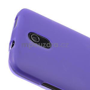 Gelové matné pouzdro pro HTC Desire 500- fialové - 3