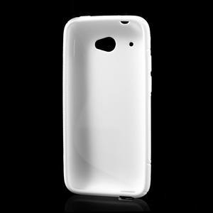Gelove S-line pouzdro pro HTC Desire 601- bílé - 3