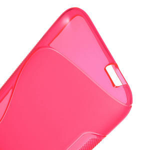 Gelove S-line pouzdro pro HTC Desire 601- růžové - 3