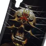 Gelová pouzdro pro LG Optimus L5 Dual E455- lebka - 3/5