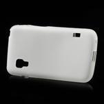 Matné gelové pouzdro pro LG Optimus L5 Dual E455- bílé - 3/4
