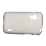 Matné gelové pouzdro pro LG Optimus L5 Dual E455- šedé - 3/4