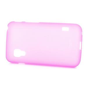Matné gelové pouzdro pro LG Optimus L5 Dual E455- růžové - 3