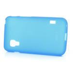 Matné gelové pouzdro pro LG Optimus L5 Dual E455- modré - 3/4