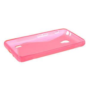 Gelové S-line pouzdro na LG Optimus F6 D505- růžové - 3