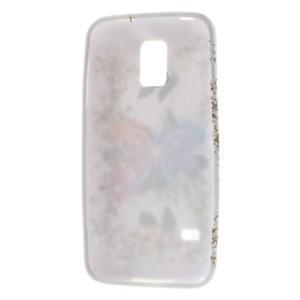 Gelové pouzdro na Samsung Galaxy S5 mini G-800- barevný motýl - 3