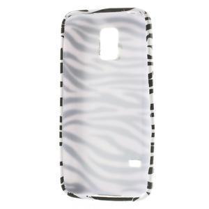 Gelové pouzdro na Samsung Galaxy S5 mini G-800- zebrovité - 3