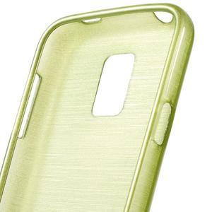 Kartáčové pouzdro na Samsung Galaxy S5 mini G-800- zelené - 3
