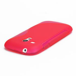 Růžové gelové pouzdro pro Samsung Galaxy S3 mini / i8190 - 3