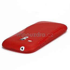 Červené gelové pouzdro pro Samsung Galaxy S3 mini / i8190 - 3