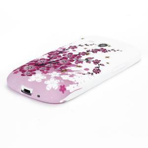 Gelové pouzdro pro Samsung Galaxy S3 mini i8190- květiny - 3