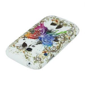 Gelové pouzdro pro Samsung Galaxy S3 mini i8190- motýl - 3