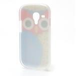 Gelové pouzdro pro Samsung Galaxy S3 mini / i8190 - modrá Sova - 3/5