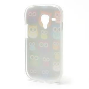 Gelové pouzdro pro Samsung Galaxy S3 mini / i8190 - mini Sovy - 3