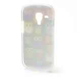 Gelové pouzdro pro Samsung Galaxy S3 mini / i8190 - mini Sovy - 3/5