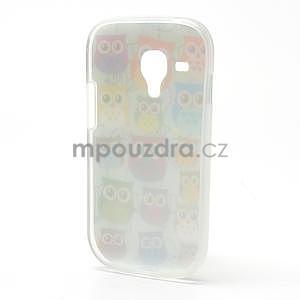 Gelové pouzdro pro Samsung Galaxy S3 mini / i8190 - mini Sovy II - 3