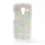 Gelové pouzdro pro Samsung Galaxy S3 mini / i8190 - mini Sovy II - 3/5