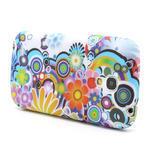 Gelové pouzdro pro Samsung Galaxy S4 mini i9190- barevné květy - 3/5
