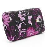 Gelové pouzdro pro Samsung Galaxy S4 mini i9190- květina-motýl - 3/5