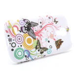 Gelové pouzdro pro Samsung Galaxy S4 mini i9190- kruhový motýl - 3/5