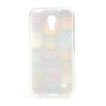 Gelové pouzdro na Samsung Galaxy S4 mini i9190- multi sovy - 3/5