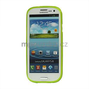 Puntíkové pouzdro pro Samsung Galaxy S3I i9300 - zelené - 3