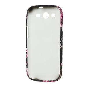 Gelové pouzdro pro Samsung Galaxy S3 i9300 - MOTÝL - 3