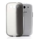 Gelové rámované pouzdro na Samsung Galaxy S3 i9300- šedé - 3/7