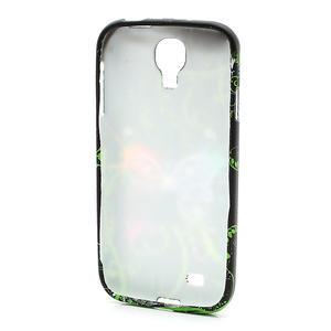 Gelové pouzdro pro Samsung Galaxy S4 i9500- barevný motýl - 3