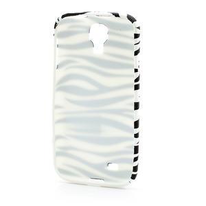 Gelové pouzdro pro Samsung Galaxy S4 i9500- zebra - 3