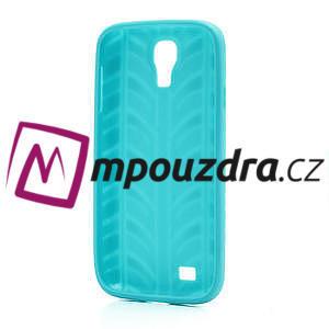 Gelové PNEU pouzdro pro Samsung Galaxy S4 i9500- zelené - 3