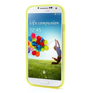 Gelové slim pouzdro na Samsung Galaxy S4 i9500- žluté - 3