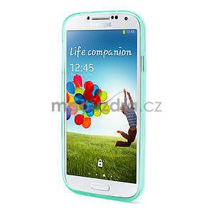 Gelové slim pouzdro na Samsung Galaxy S4 i9500- zelené - 3