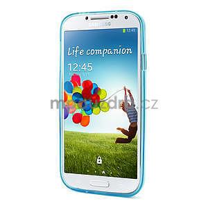 Gelové slim pouzdro na Samsung Galaxy S4 i9500- modré - 3