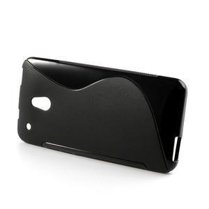 Gelové S-line pouzdro pro HTC one Mini M4- černé - 3