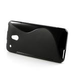 Gelové S-line pouzdro pro HTC one Mini M4- černé - 3/4