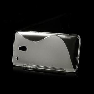 Gelové S-line pouzdro pro HTC one Mini M4- transparentní - 3