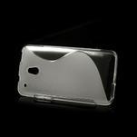 Gelové S-line pouzdro pro HTC one Mini M4- transparentní - 3/5