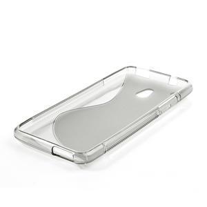 Gelové S-line pouzdro pro HTC one Mini M4- šedé - 3