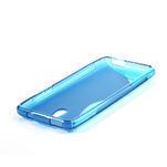 Gelové S-line pouzdro pro HTC one Mini M4- modré - 3/4
