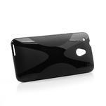 Gelové X-line pouzdro pro HTC one Mini M4- černé - 3/5
