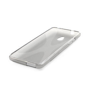 Gelové X-line pouzdro pro HTC one Mini M4- šedé - 3