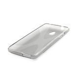 Gelové X-line pouzdro pro HTC one Mini M4- šedé - 3/4
