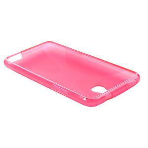 Gelové X-line pouzdro pro HTC one Mini M4- růžové - 3