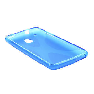 Gelové X-line pouzdro pro HTC one Mini M4- modré - 3