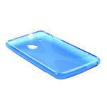Gelové X-line pouzdro pro HTC one Mini M4- modré - 3/4