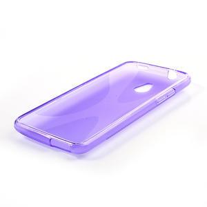 Gelové X-line pouzdro pro HTC one Mini M4- fialové - 3