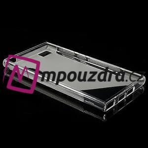 Gelové S-line pouzdro na Xiaomi Mi3- transparentní - 3