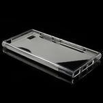 Gelové S-line pouzdro na Xiaomi Mi3- transparentní - 3/5