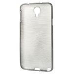 Gelové kartáčované pouzdro na Samsung Galaxy Note 3 Neo - černé - 3/5